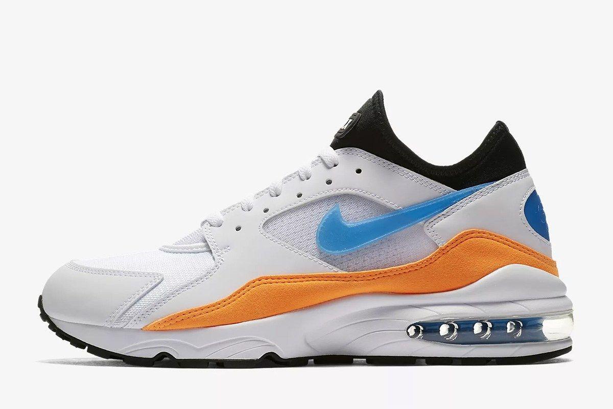 Nike Air Max 93 in Total OrangeBlue Nebula | Zapatos Nike
