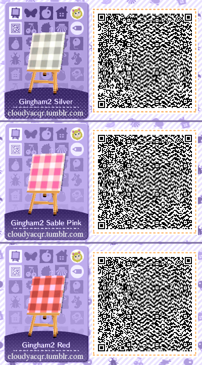 Animal Crossing Qr Codes By Cloudy Plaid Designs Set 1 Of
