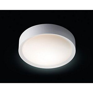 Wickes Nova Bathroom Ceiling Flush Light - E27 | Bathroom ...
