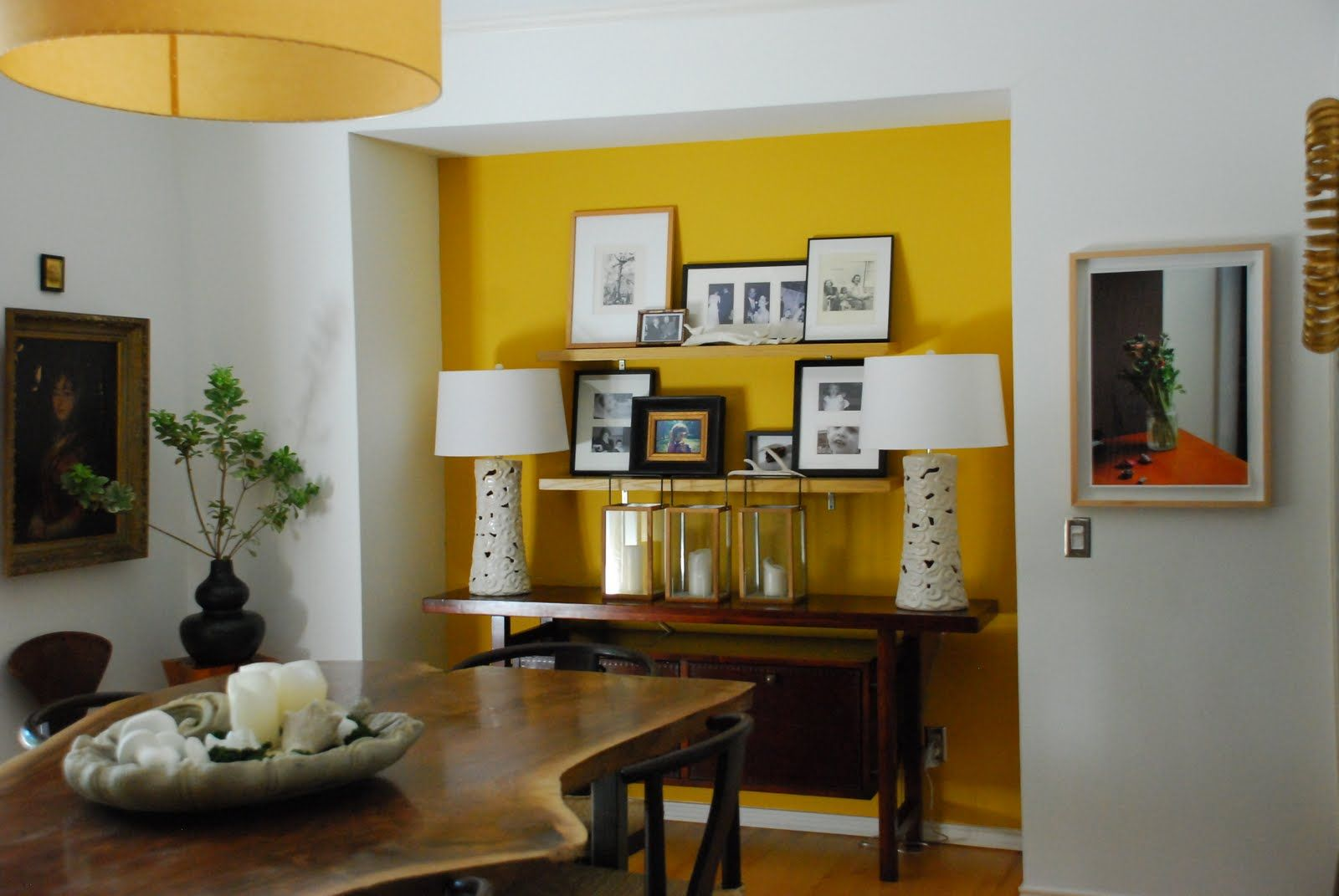 Yellow Wall Love Rustic Wall Mirrors Oversized Wall