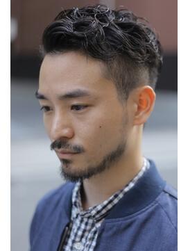 40 ワイルド 代 髪型 メンズ