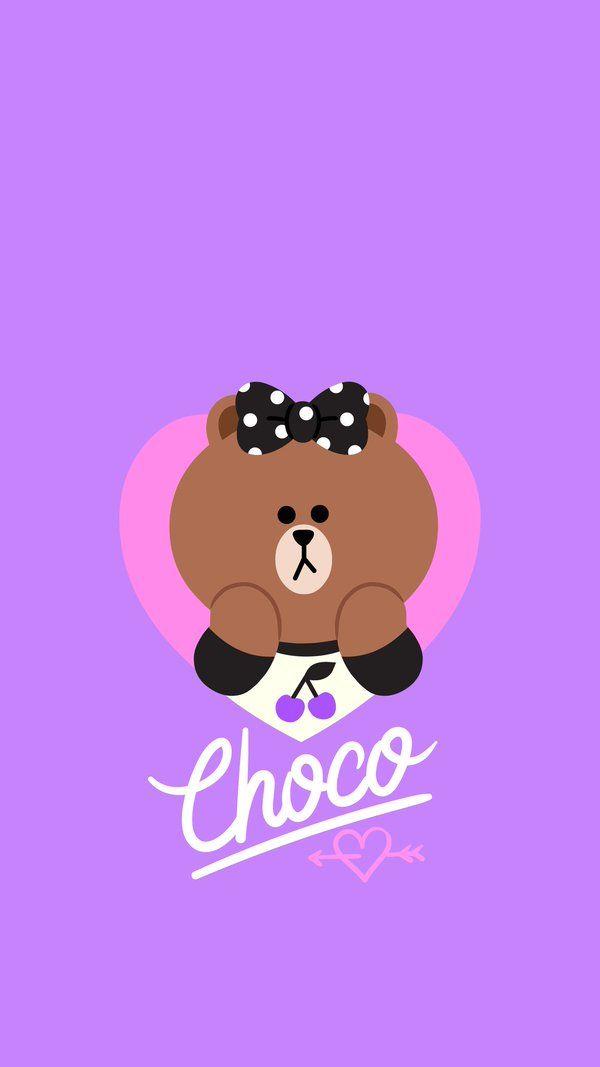 ㅂrㄱ슌 On Twitter Line Friends Character Wallpaper Bear Wallpaper