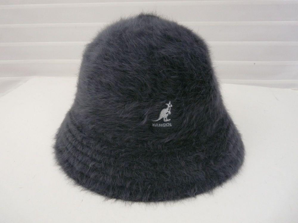 NWT Kangol Gray Fugora Angora Womens Bucket Hat  fashion  clothing  shoes   accessories 6c2746fa2aee