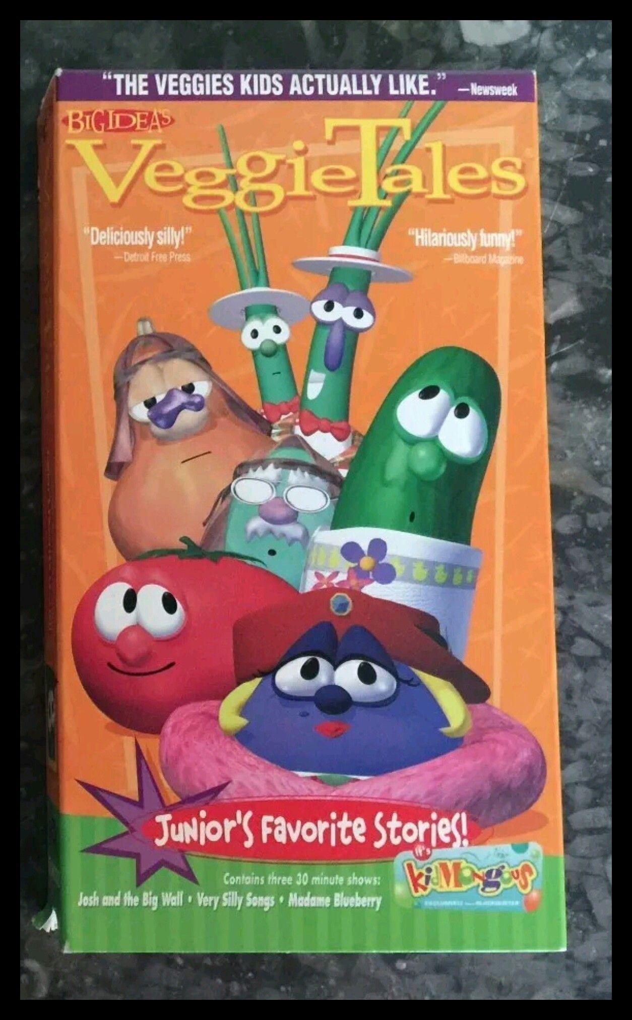 veggietales juniors favorite stories veggietales vhs