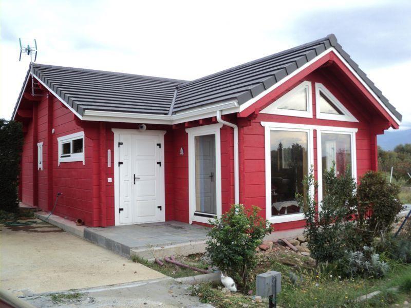 Ponferrada 100m2 casa de madera casas construidas por for Constructoras de casas