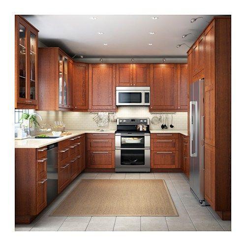 Medium Brown Kitchen Cabinets: Image Result For Ikea Grimslov Medium Brown