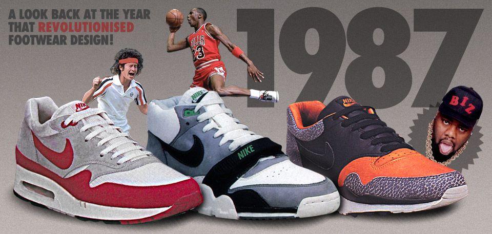 1987 NIKE SNEAKER FLASHBACK | Sneakers