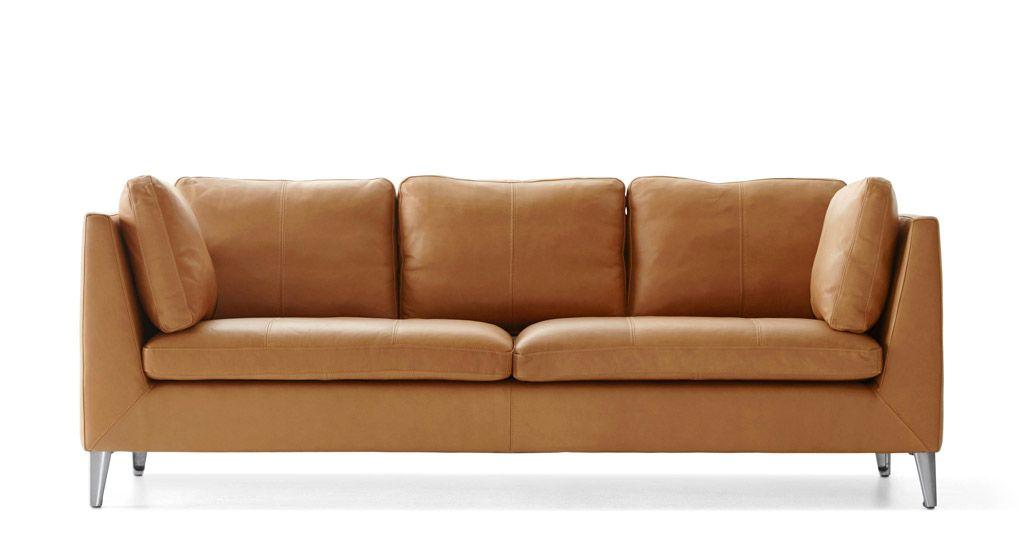 Ikea Sofa Faux Leather
