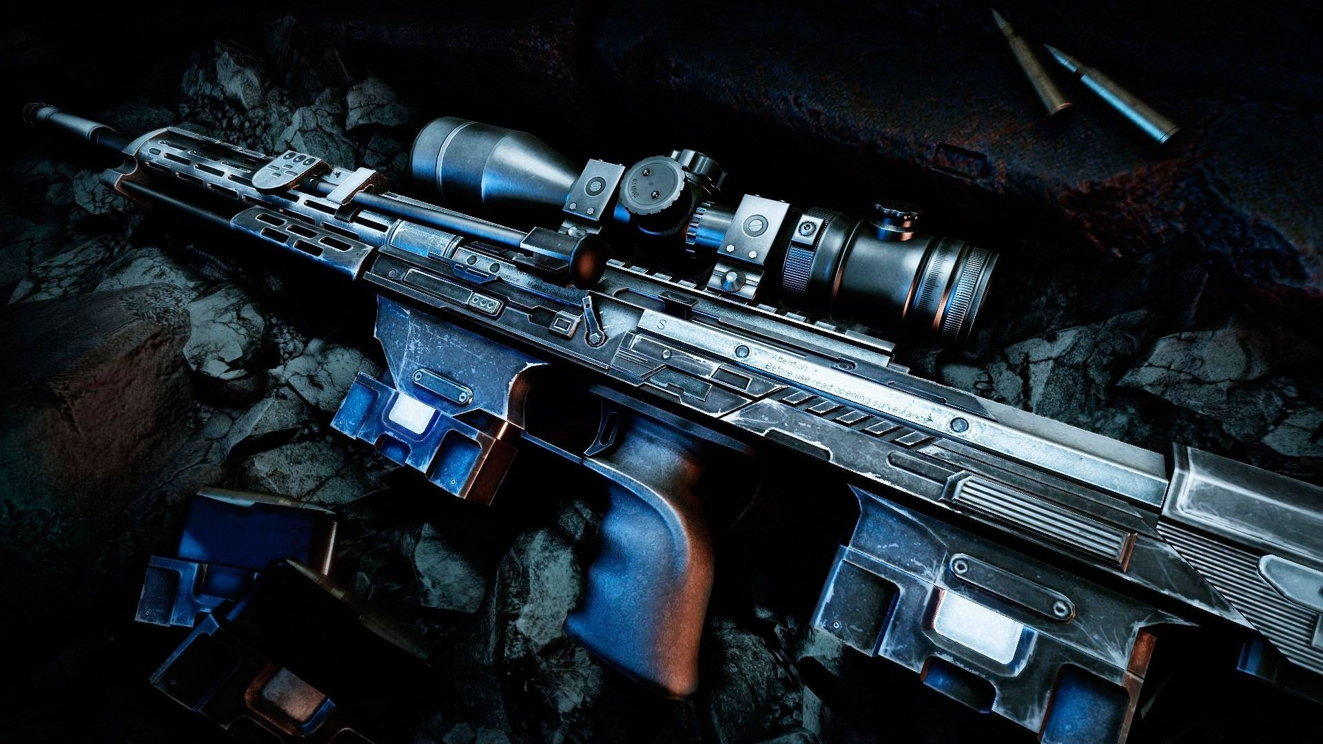Sniper Rifles Wallpaper