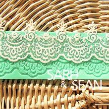 L022 flor molde rendas instante cozimento silicone molde do bolo ferramentas acessórios de cozinha decoração para bolos Fondant(China (Mainland))
