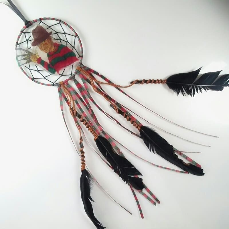Freddy Krueger Fan Art Dream Catcher Cool Lock Craft Time