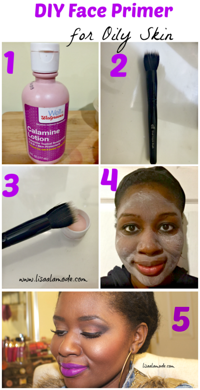 DIY Face Primer for Oily Skin Calamine Lotion Primer