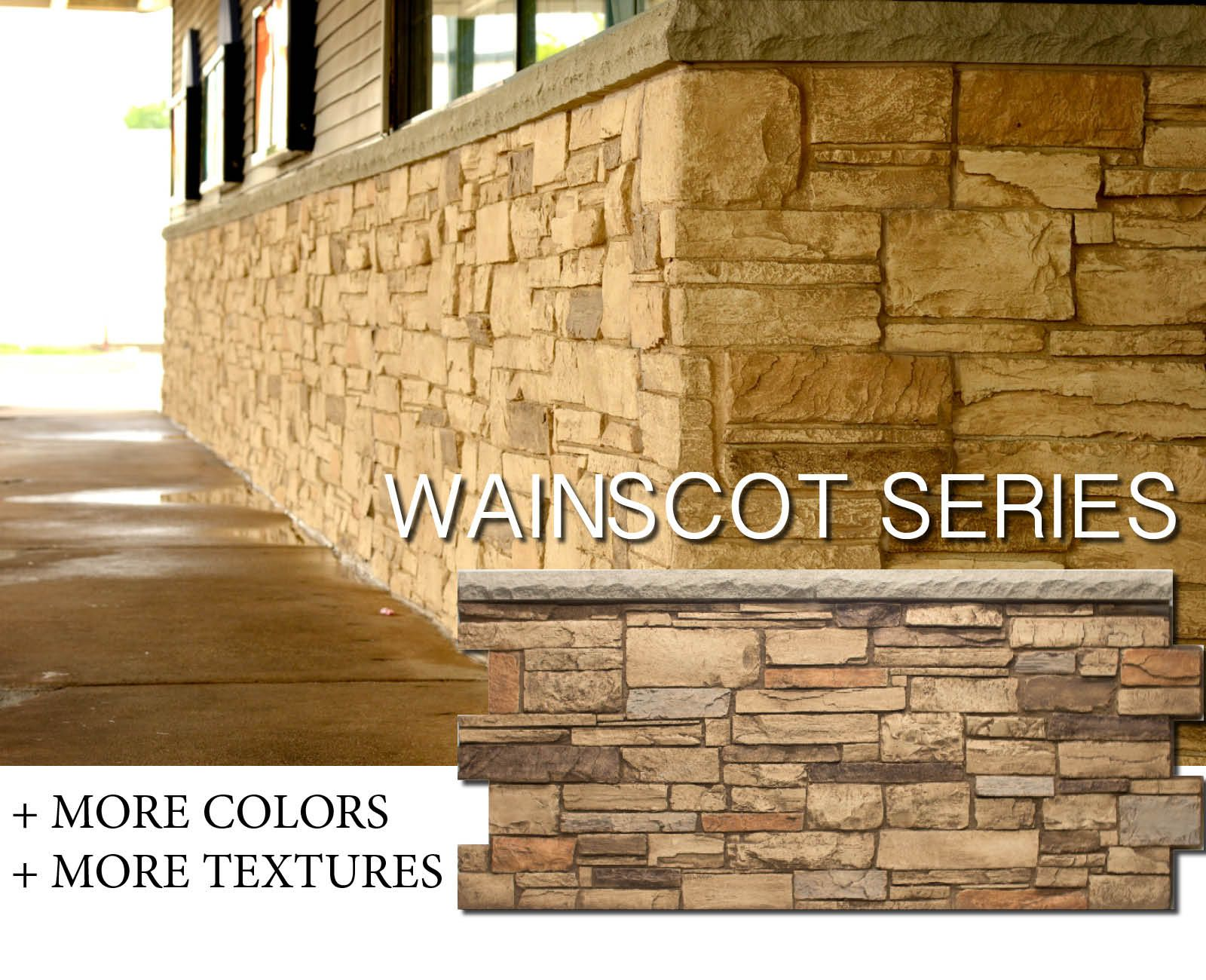 Easy DIY wainscot. Perfect for transforming exteriors. most ...