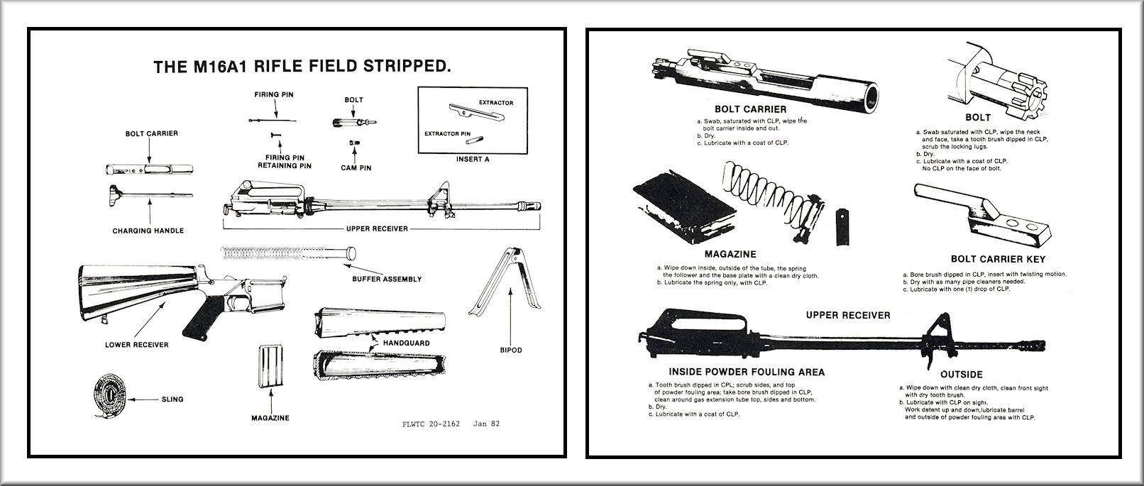 Image Gallery M16 Diagram