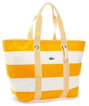 Lacoste Summer Holiday Beach Bag | What's in your beach bag ...