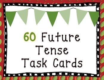 Spanish Future Tense Task Cards | Task cards, Future tense ...
