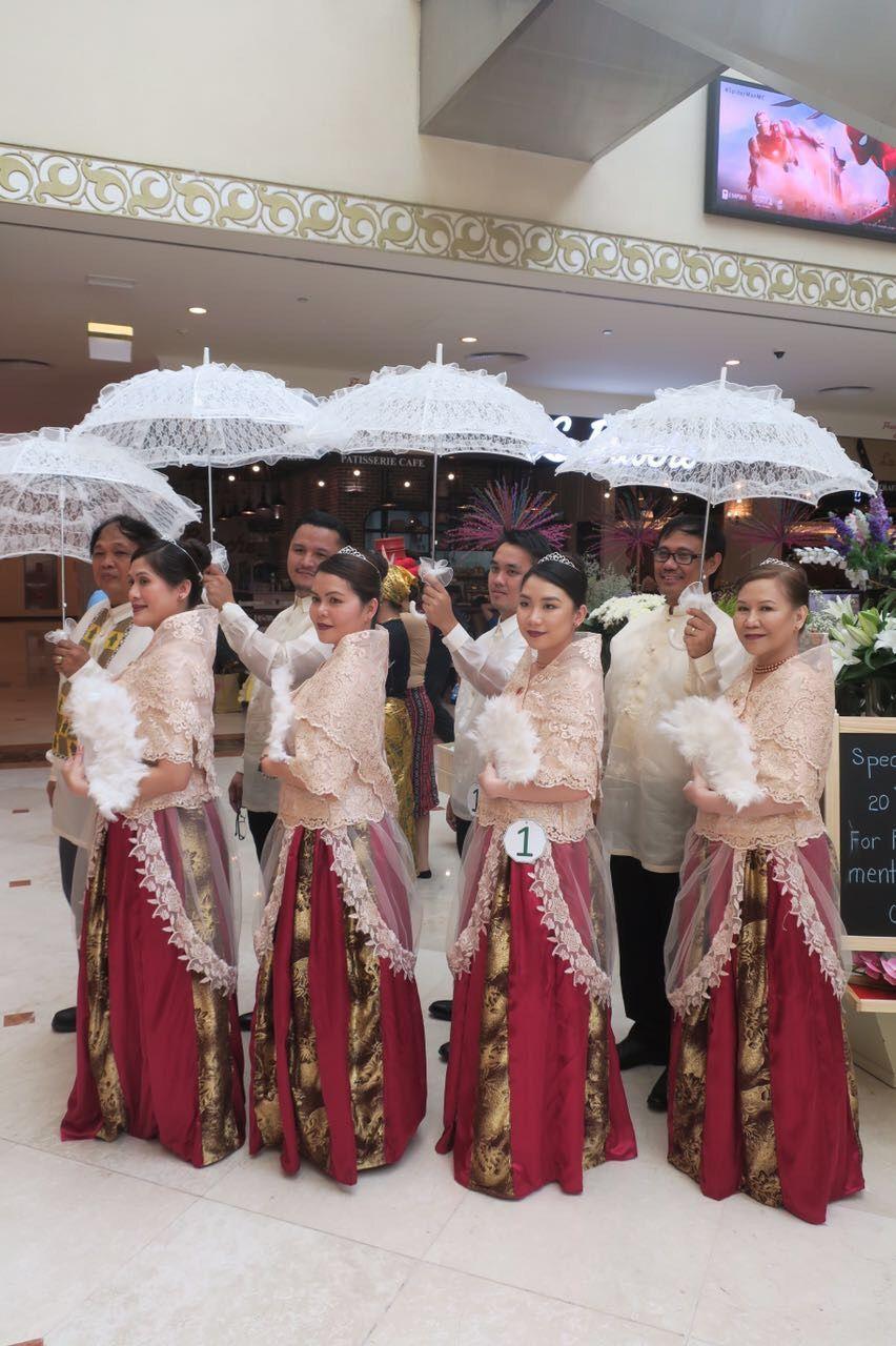 Filipiniana Dress now available at Mazaya Alsharq Ladies