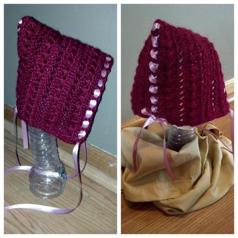 Victorian Pixie Bonnet | Crochet Hat Patterns | Pinterest | Deberes