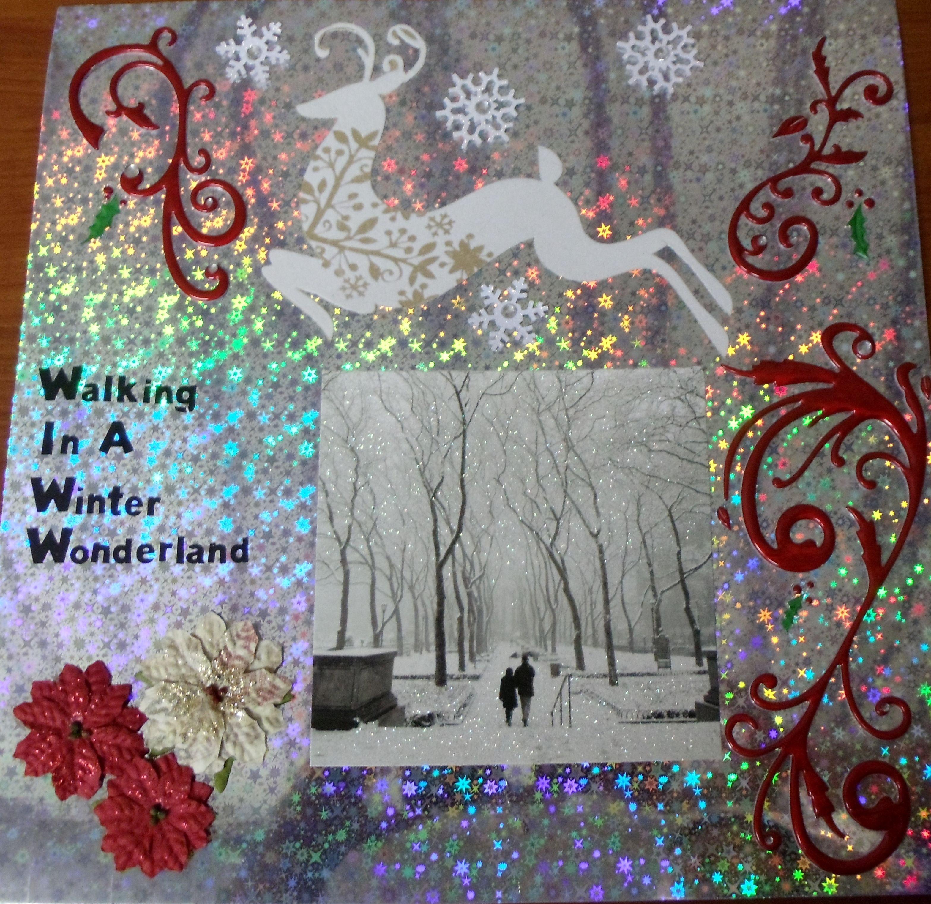 Walking in a Winter Wonderland - Scrapbook.com