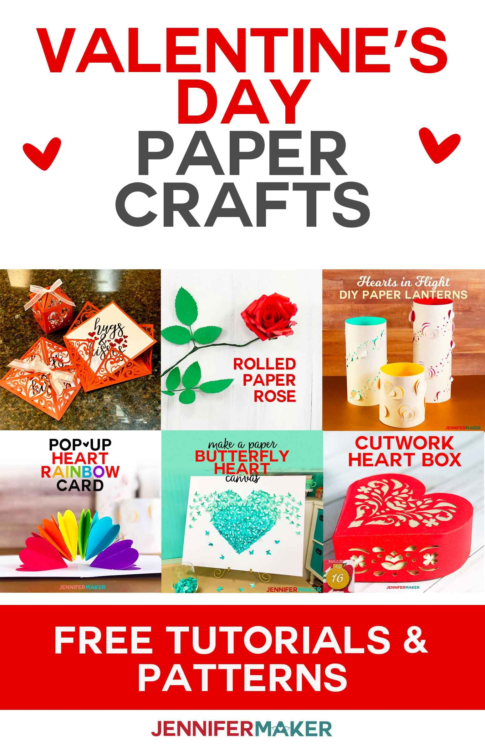 Valentine S Day Craft Ideas For Your Cricut Valentine S Day