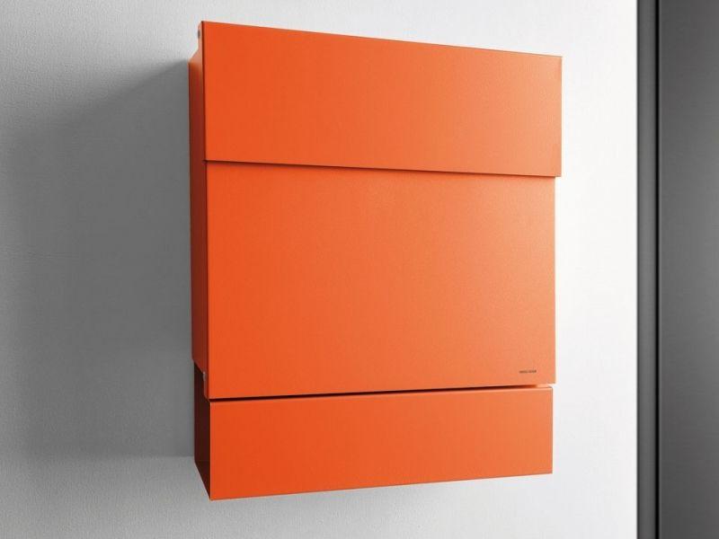 Letterman V Briefkasten radius design briefkasten letterman 5 orange