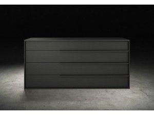 Janet Gray Oak Contemporary Bedroom Dressers | Modern Dressers ...