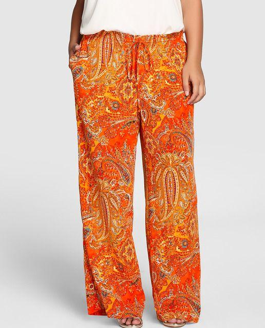Mujer Tallas Grandes Pantalones Tallas Grandes Pantalon Ancho Mujer Ropa