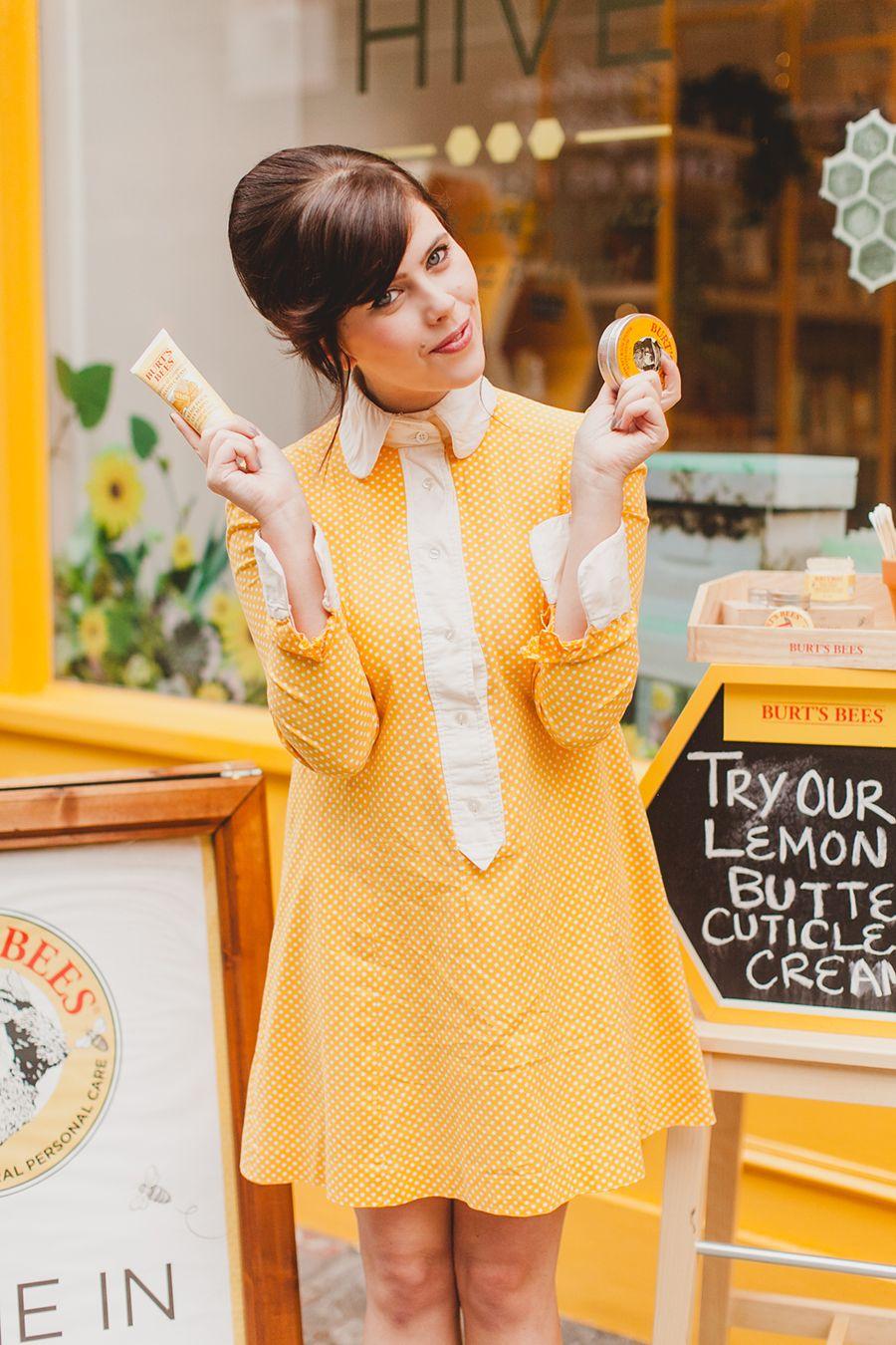 Join me at burtus beeus popup hive wishwishwish us dress