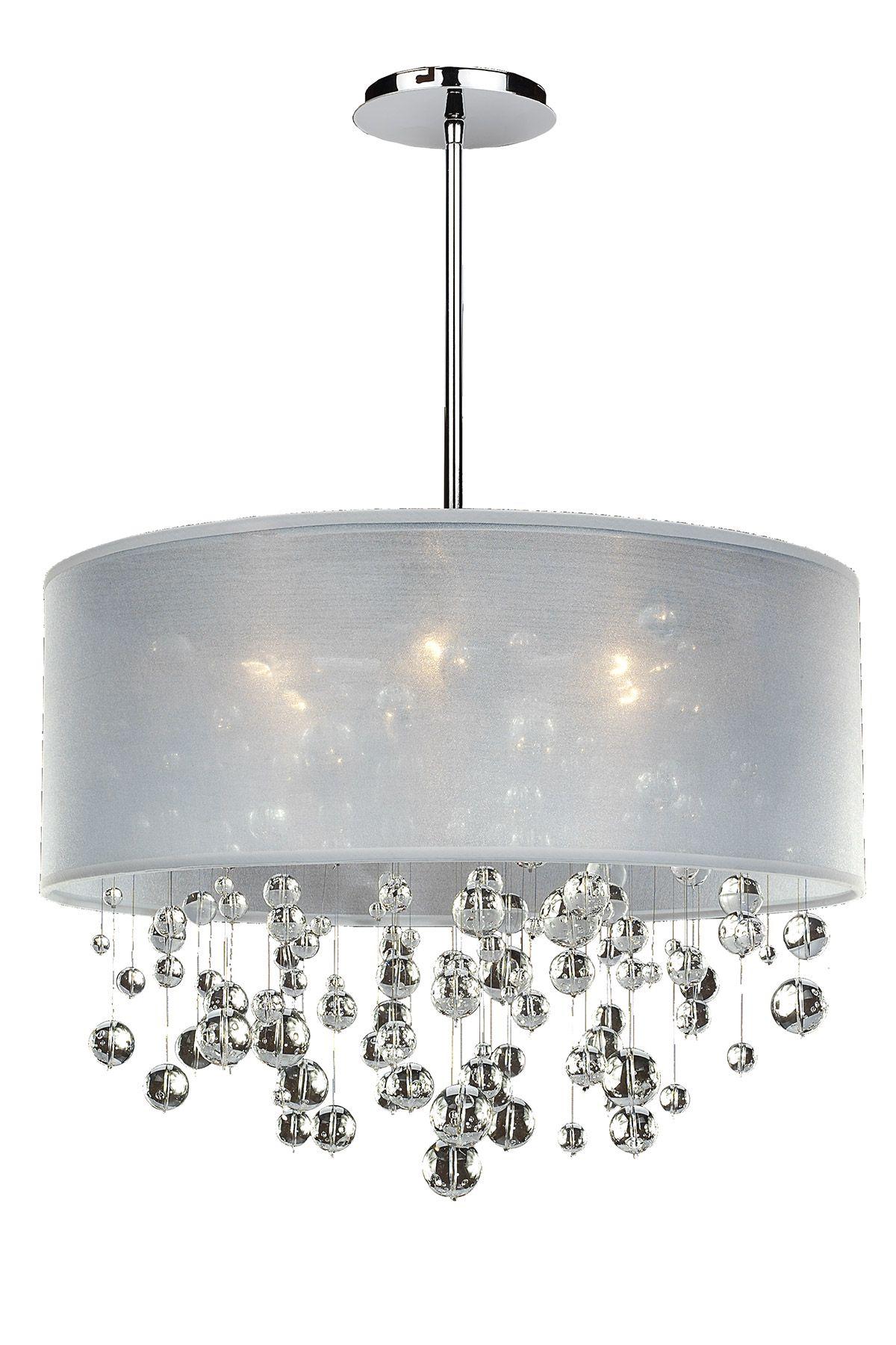 Silhouette Pendant By Glow Lighting 590bd21sp W 7c Pendant Chandelier Drum Chandelier Drum Shade