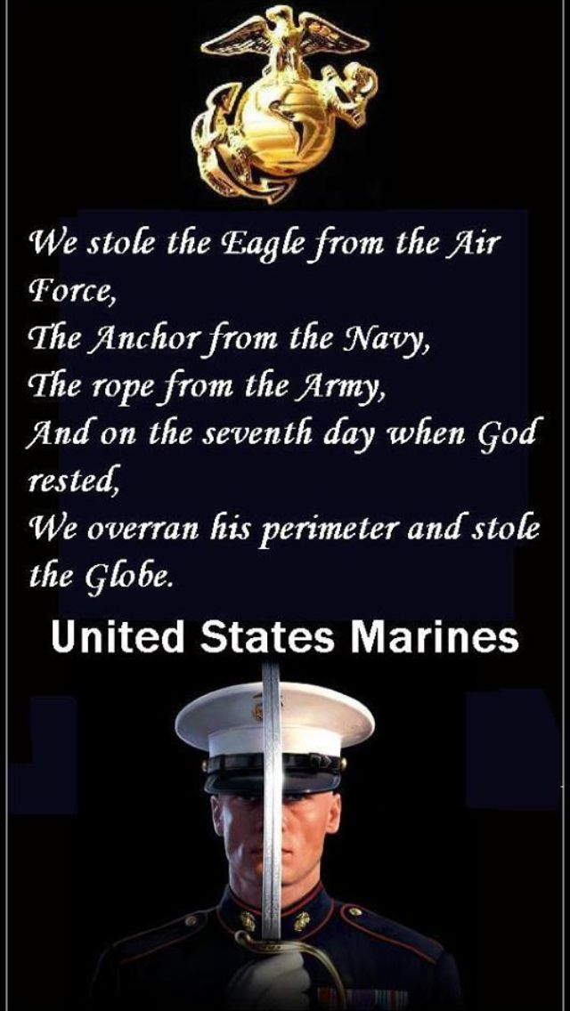 Marine Corps Quotes Brilliant We Take A Little Piece Of Everything And Put It Together And Make It