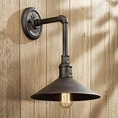 troy lighting toledo collection 14 3 4 h outdoor wall light she