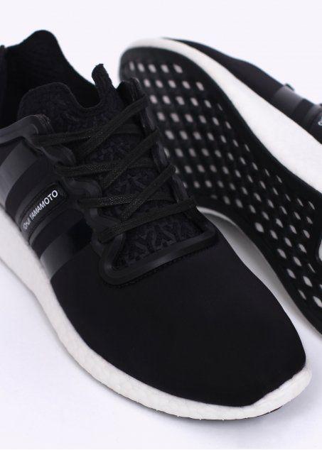 buy online 6e77c ecad8 Y3   Adidas - Yohji Yamamoto Yohji Boost Trainers - Black   White