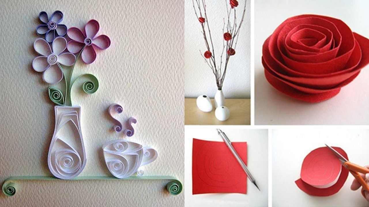 7 Awesome And Smart Diy Craft Ideas With Paper For Stunning Wall Decoration Diycraftideas Paper Room Decor Easy Paper Crafts Diy Diy Crafts