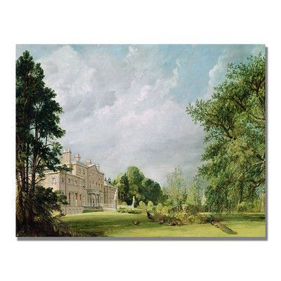 "Trademark Art ""Malvern Hall"" by John Constable Photographic Print on Canvas Size:"