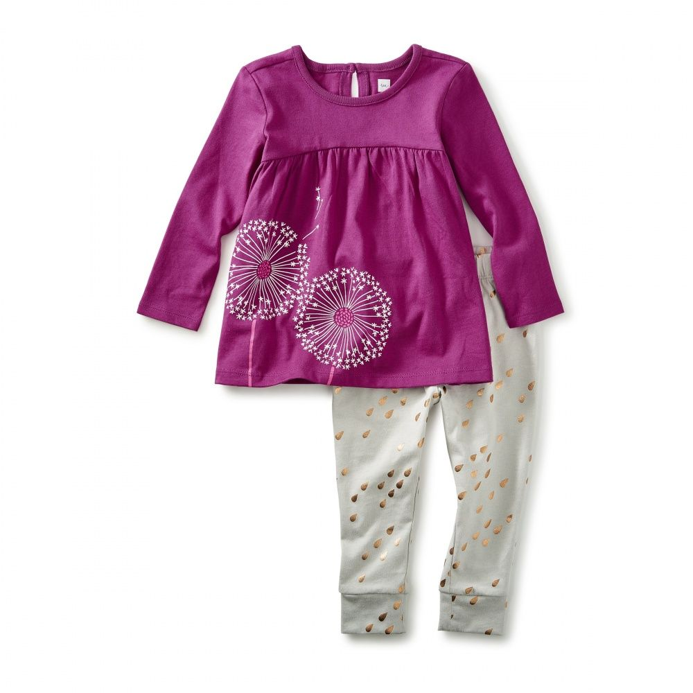 678d0be6d Wish Baby Outfit | Baby Girl Mears | Toddler leggings, Girl outfits ...