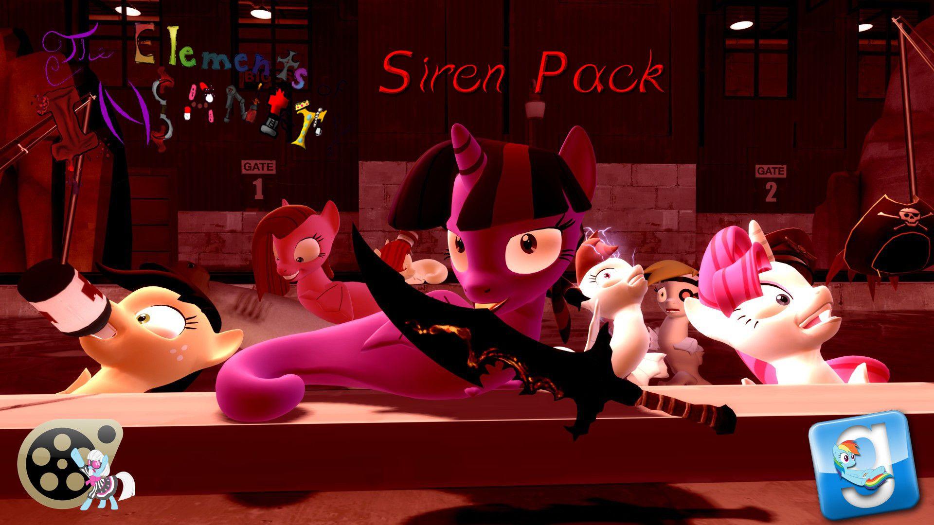 Gmod Sfm Ponies Eoi Siren Pack Dl Tyraka628 - Year of Clean Water