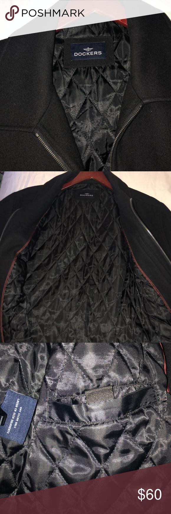 Dockers Jacket XL Black Fashion, Clothes design, Jackets