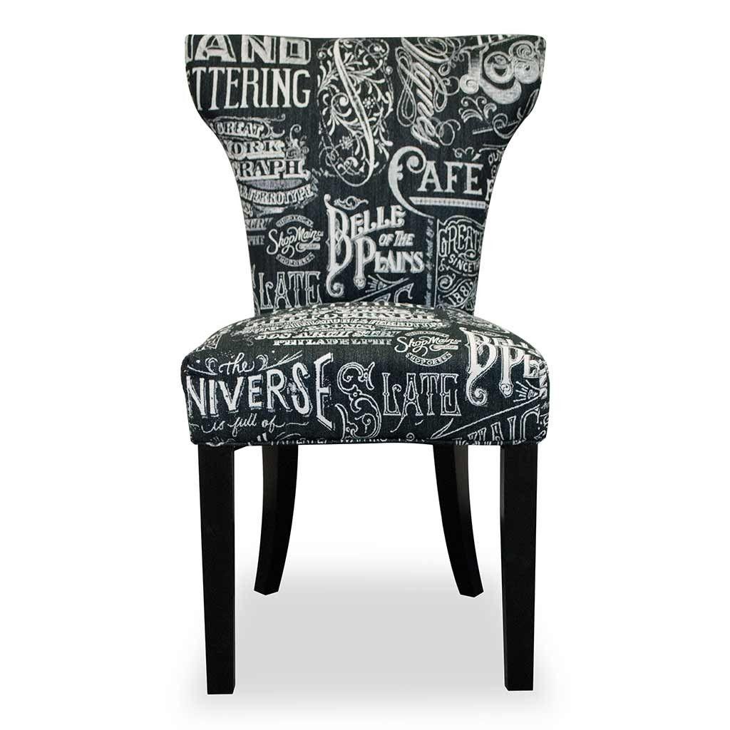 Black Chalkboard Dining Chair Urban Home