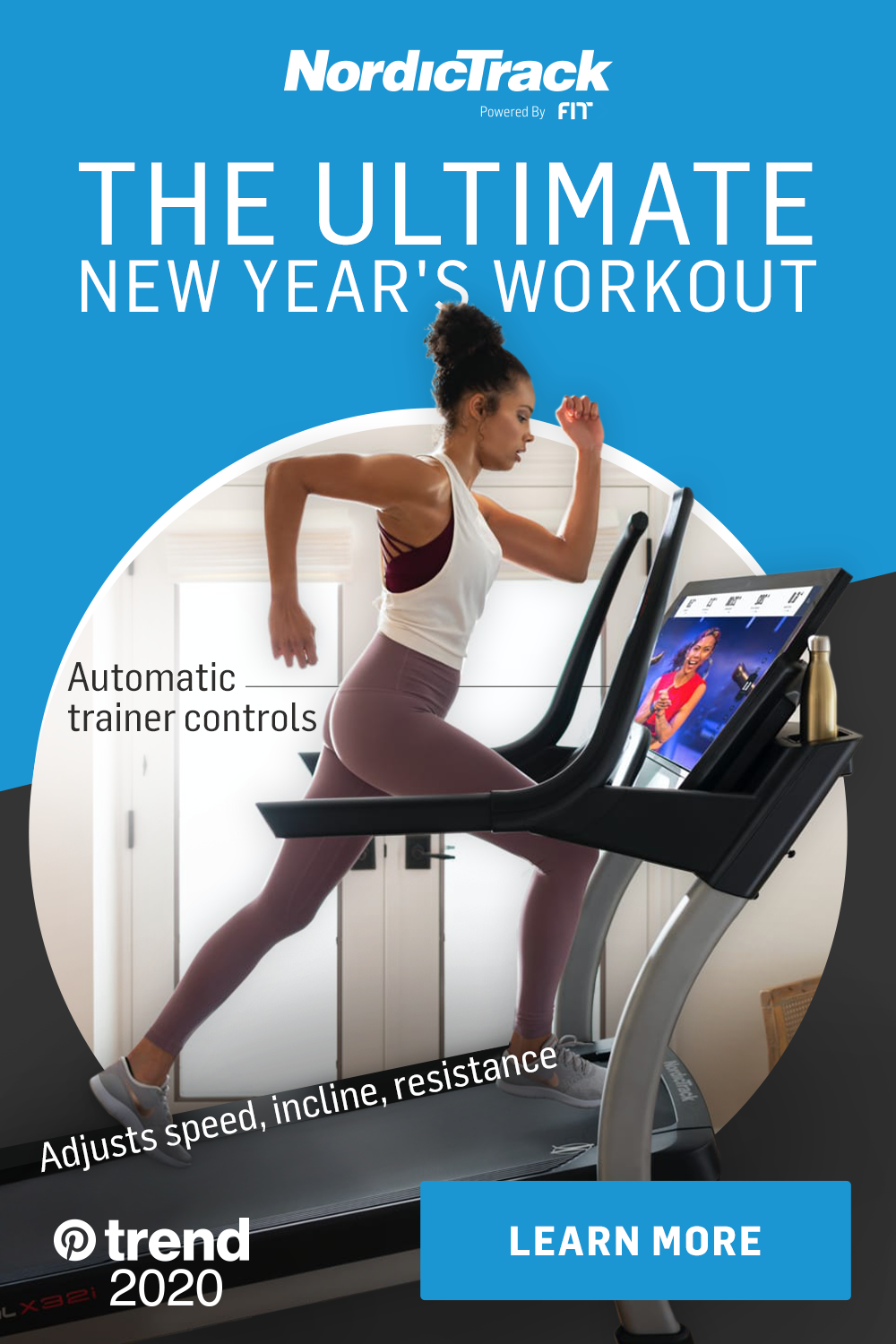 The Ultimate New Year S Workout By Nordictrack In 2020 Workout Nordictrack Biking Workout