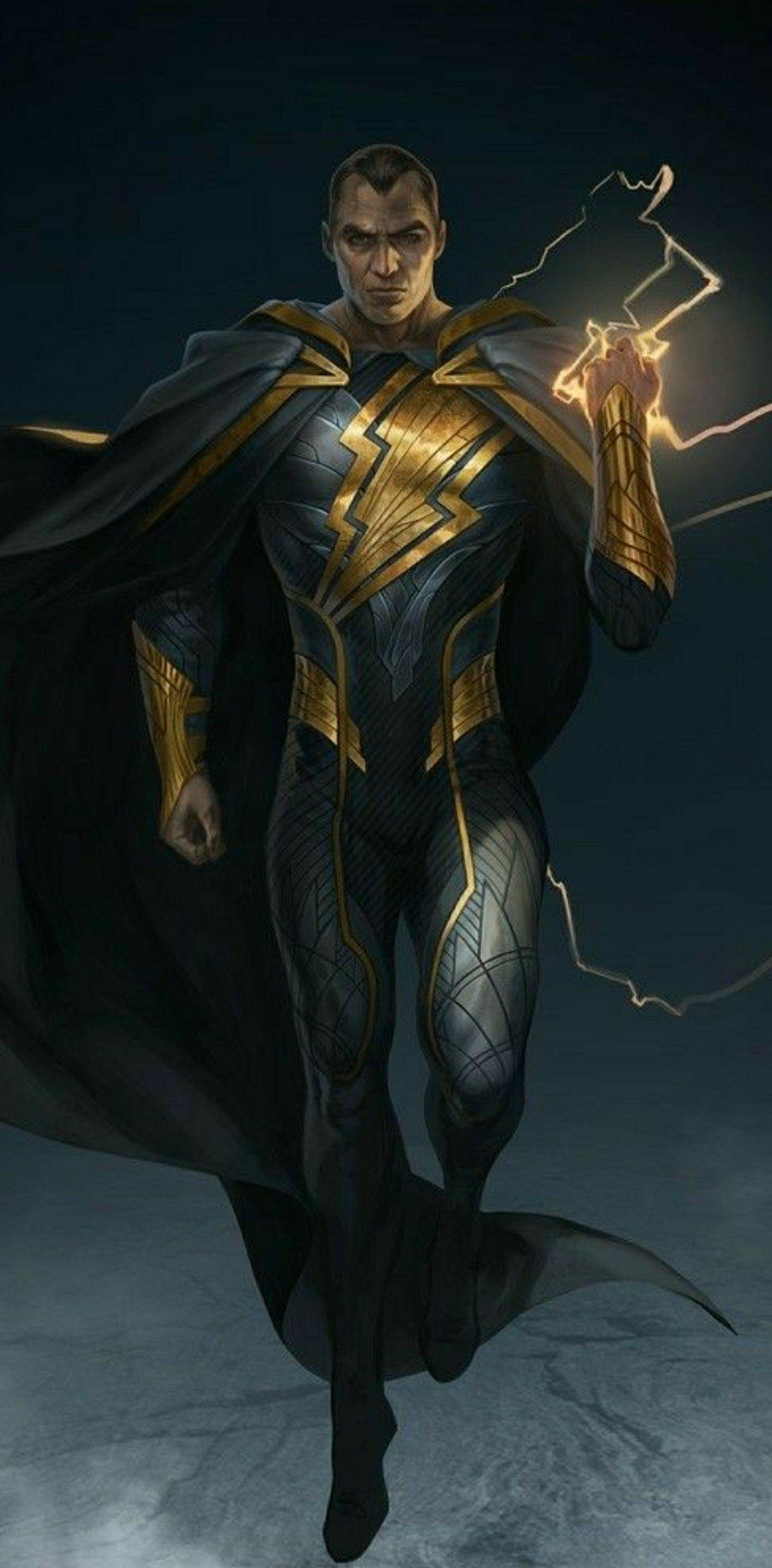 black adam superheros and villains dc comics comics
