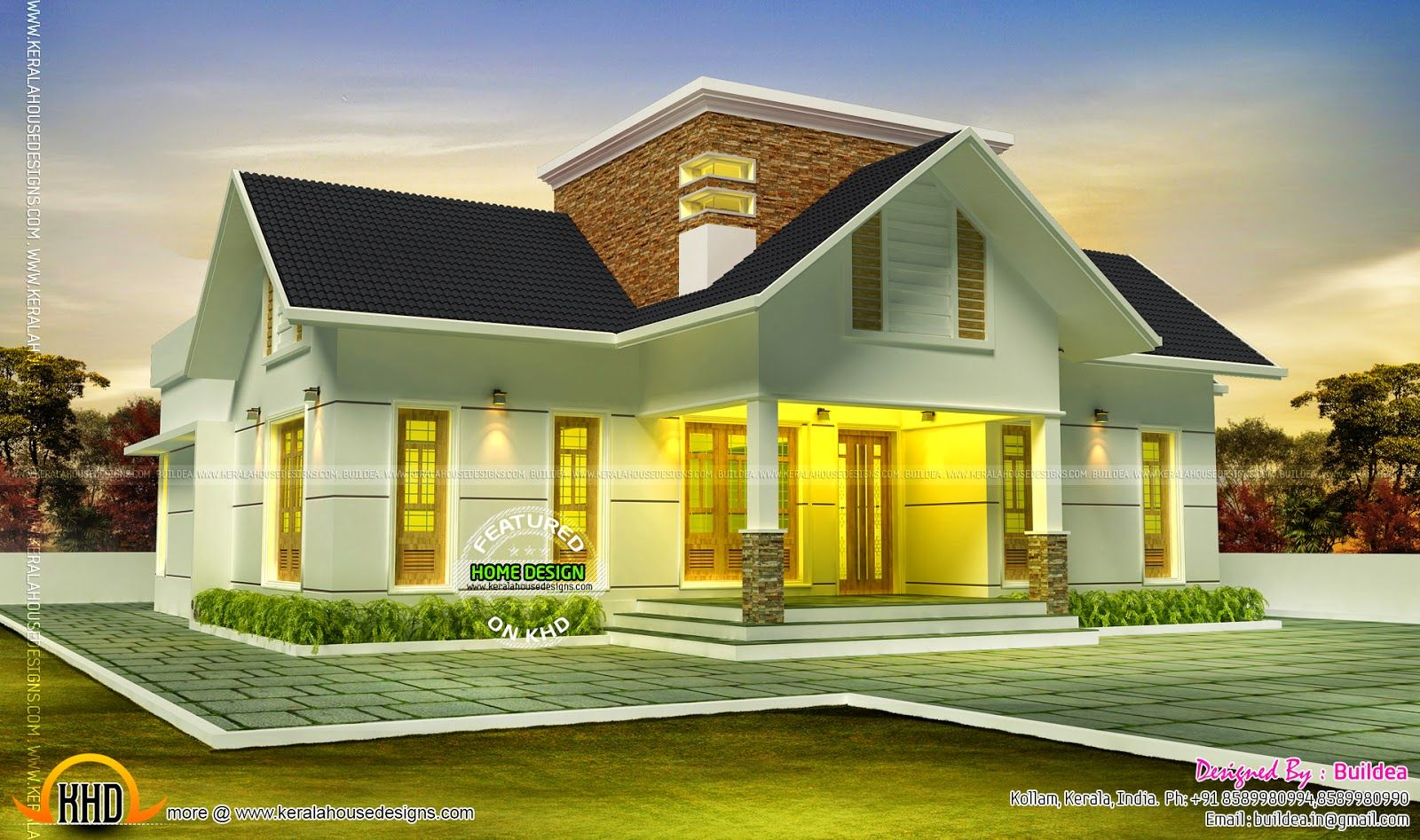 Very Beautiful House Pretty House Beautiful Homes Kerala House Design