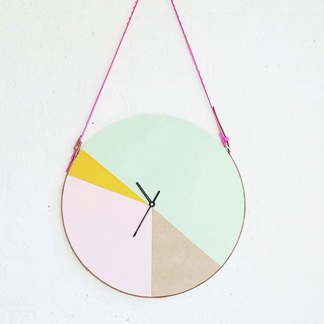 &SUUS | Persoonlijk | Mijn leven in vierkantjes | www.ensuus.nl | DIY klok