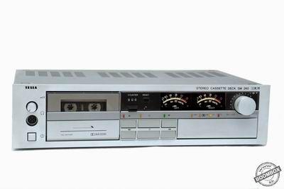 stereo cassette deck tesla sm 260 hifi vintage audio. Black Bedroom Furniture Sets. Home Design Ideas