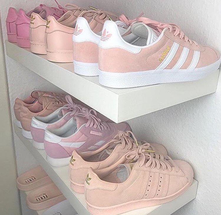 zapatillas adidas rosa pastel