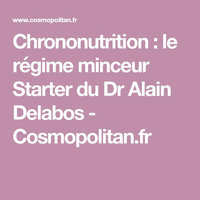 Chrononutrition : le régime minceur du Dr Alain Delabos