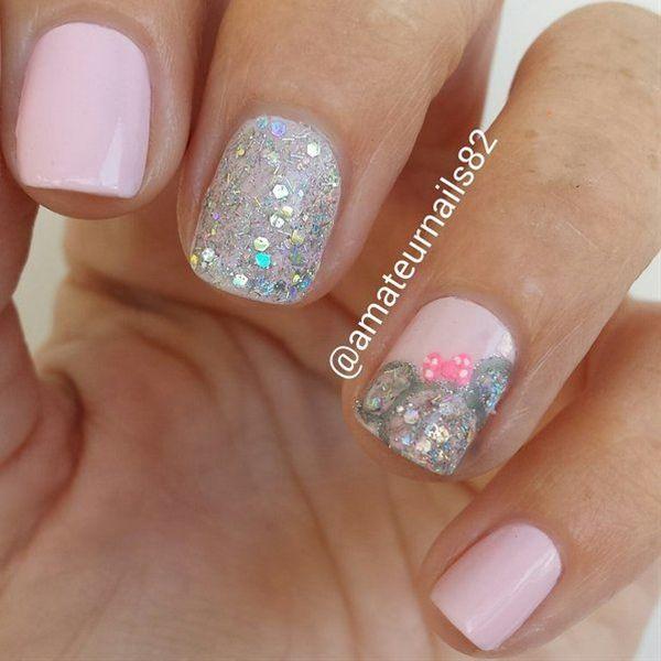 minnie mouse nails   Arte de uñas, Manicuras y Diseños de uñas