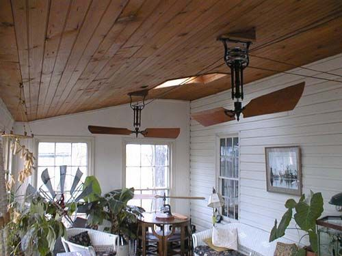 Ostriches belt pulley black aluminum main kitchen side beltpulley fan system on porch mozeypictures Images