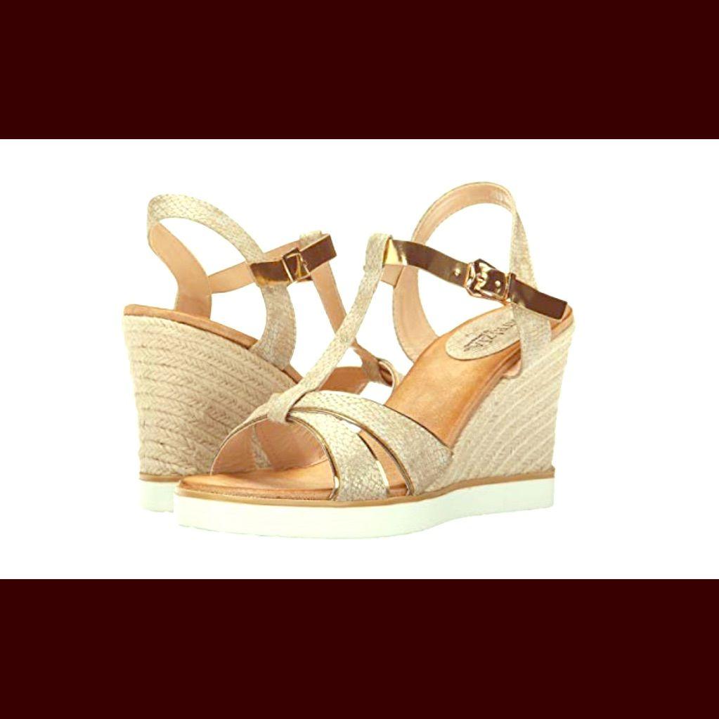 Nwot Patrizia Kochi High Heel Wedge Sandal High Heel Sandals Wedges High Heel Wedges High Heels