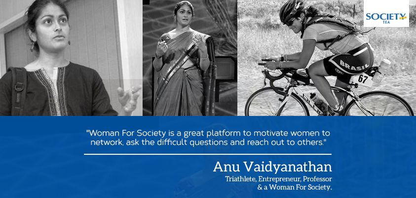 Meet Anu Vaidyanathan , A Triathlete, an entrepreneur, a visiting professor of intellectual property and a Woman For Society .In our society, academics have always been preferred over sports. Today we have someone who is the first Asian to compete and finish Ultramana three day triathlon stage race and the only Indian to qualify for the Half Ironman World Championships.