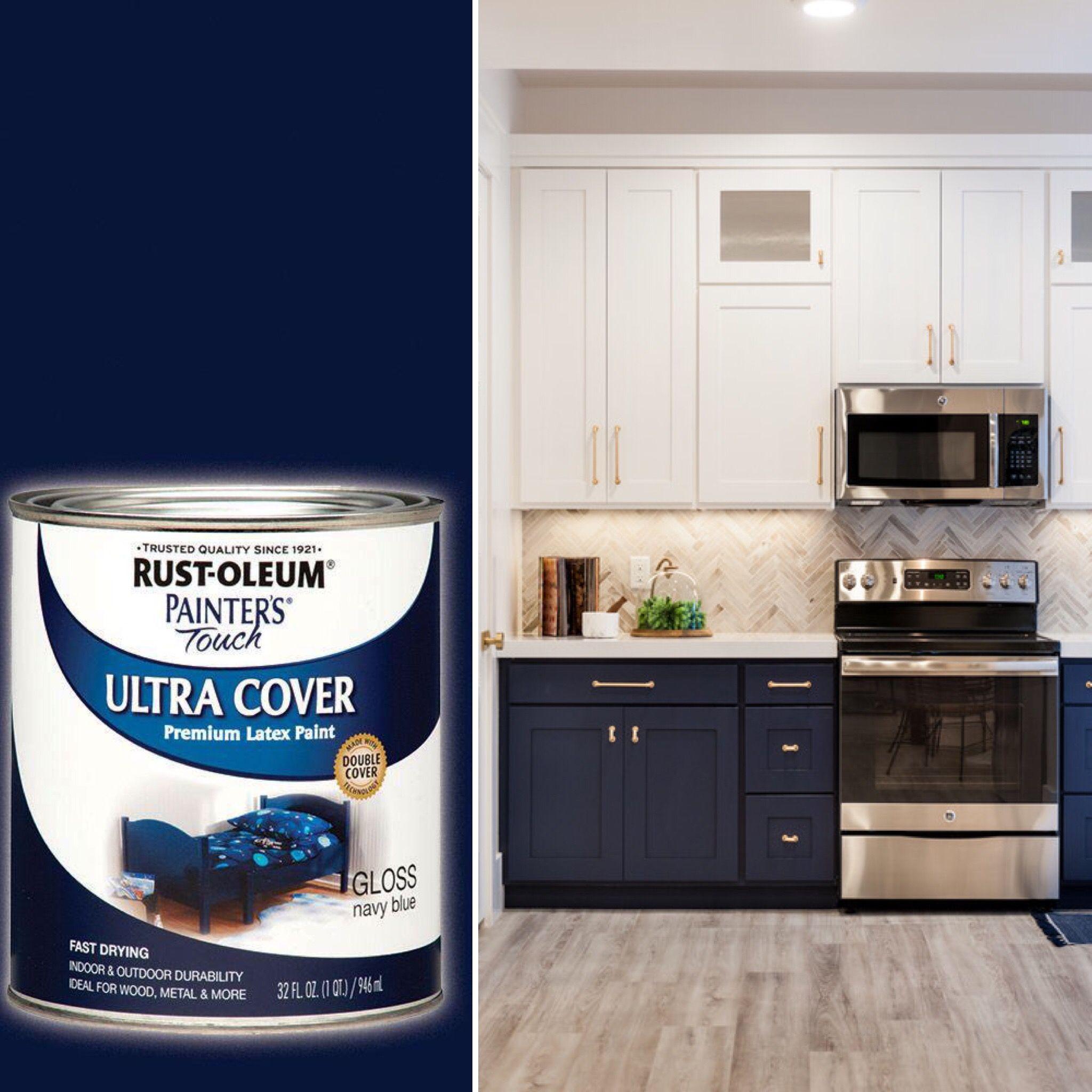 Blue Cabinet Paint Blue Cabinets Kitchen Remodel Kitchen Design